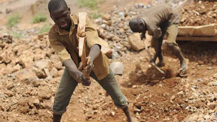Artisanal gold miners often work in atrocious conditions